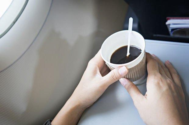 Uçakta su