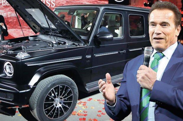 Mercedes'in yeni G serisini Schwarzenegger tanıttı