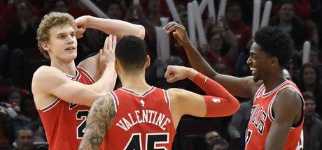 Chicago Bulls'un çaylağı Markkanen tarihe geçti!