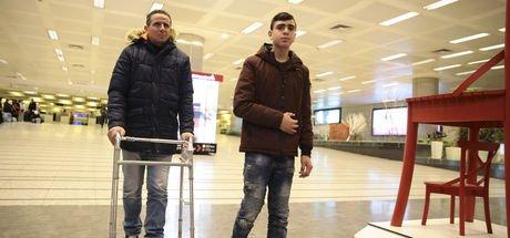 Kudüs direnişinin simgesi Cuneydi Türkiye'ye geldi