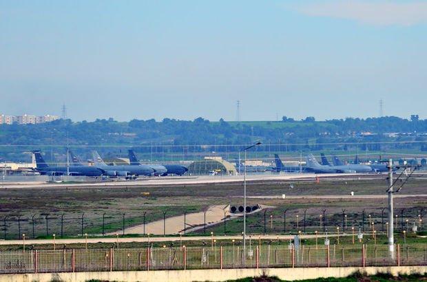 İncirlik Üssü'nde ABD kargo uçağı yoğunluğu yaşanıyor
