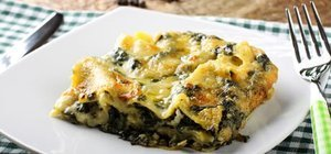 Ispanaklı lazanya nasıl yapılır? Ispanaklı lazanya tarifi ve malzemeleri