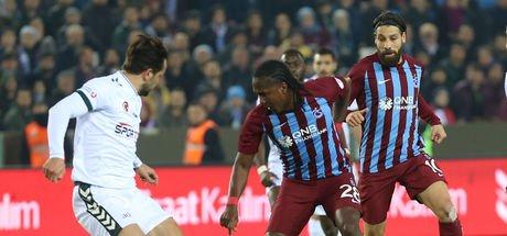 Trabzonspor, Ziraat Türkiye Kupası'na veda etti! Trabzonspor: 1 - Konyaspor: 1   MAÇ SONUCU