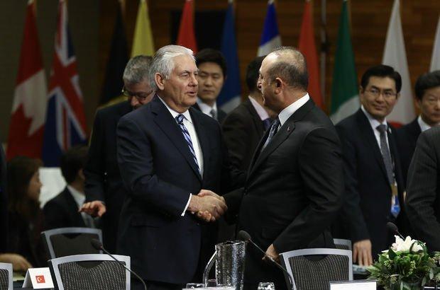 Çavuşoğlu'ndan Tillerson'a Suriye uyarısı
