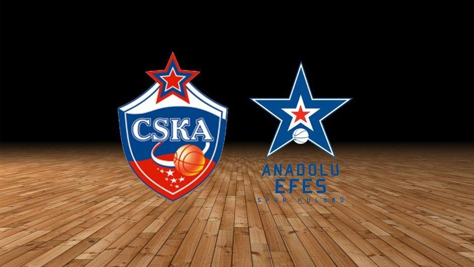 CSKA Moskova'nın konuğu, Anadolu Efes