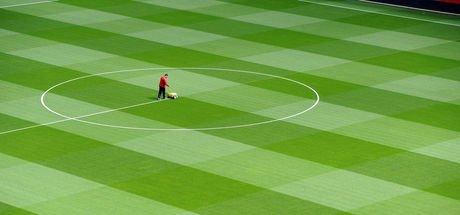 Türk Telekom Stadı'nın zemini hibrit çim oluyor