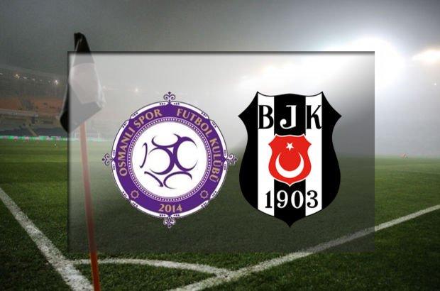 Osmanlıspor'un konuğu Beşiktaş