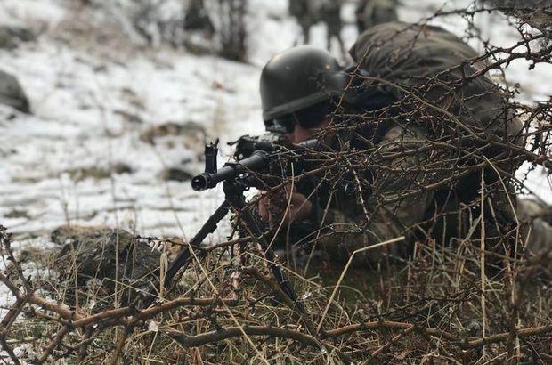 Van'da terör örgütü PKK'ya ait 3 sığınak imha edildi