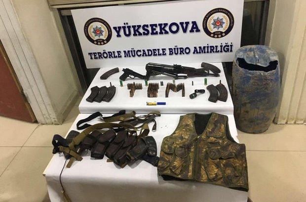 Hakkari'de terör örgütü PKK'ya operasyon: 1 kişi gözaltında