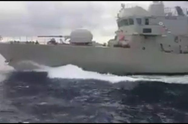 Türk ve Yunan botları karşı karşıya!