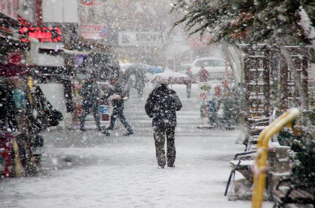 Meteoroloji'den İstanbul için son dakika uyarısı! Kar geliyor...
