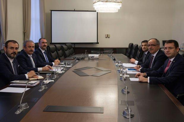 'Milli Mutabakat Komisyonu' ilk kez toplandı! Toplantı sonrası açıklama