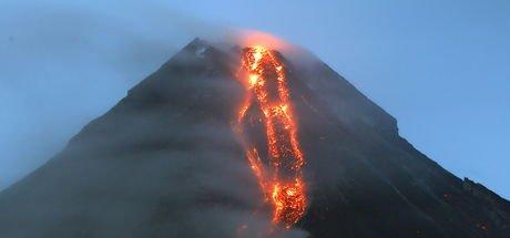 Filipinler'de yanardağ alarmı