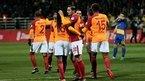 Galatasaray hem kazandı hem turladı!