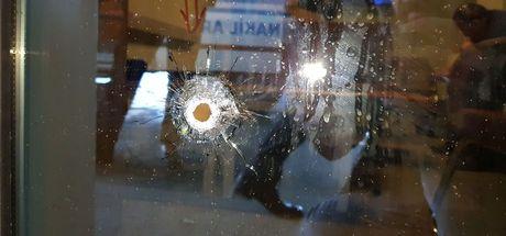 Düzce'de acil servis önünde silahlı çatışma