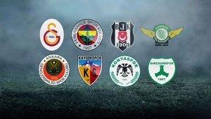 Türkiye Kupası çeyrek final eşleşmeleri bugün belli olacak
