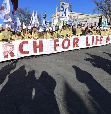 ABD'de kürtaja karşı 'Hayat Yürüyüşü'
