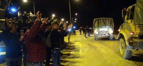 Sınıra sevkiyat, El Bab'daki ÖSO birlikleri Hatay'da