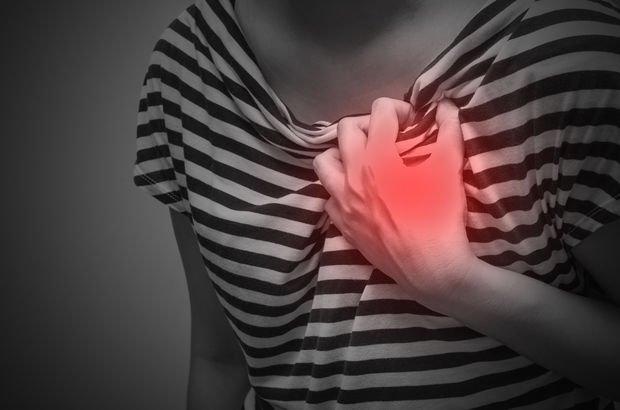 Kadınlarda kalp krizi erkeklere göre 1.5 kat ölümcül!