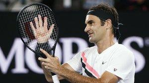 Federer tam gaz