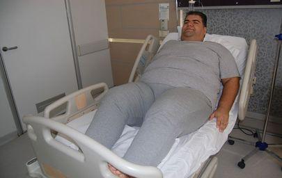 Konya'da yaşayan Serter Kılıç 1 yılda 100 kilo verecek