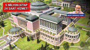 Türkiye'nin en büyük kütüphanesi Beştepe Külliyesi'nde inşa ediliyor