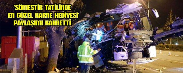 Eskişehir'de 11 kişinin öldüğü kazada son dakika gelişmesi!
