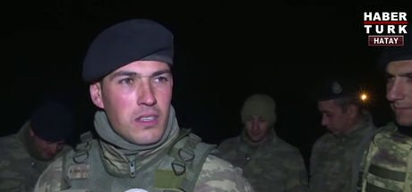 Son dakika görüntüleri, Afrin Harekatı'na katılan askerler Habertürk'te