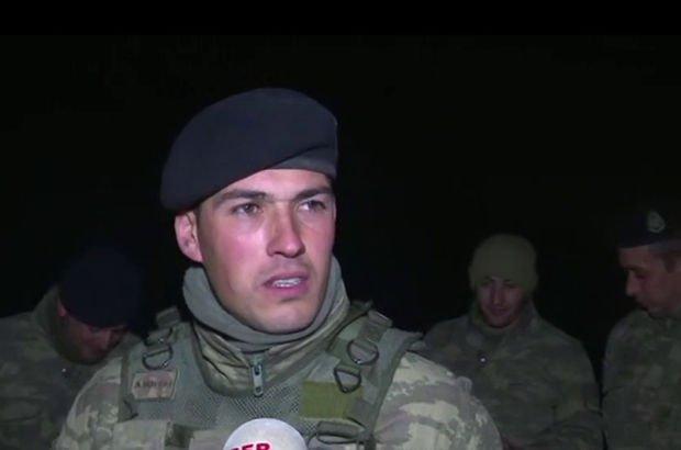 Afrin Harekatı'na katılan askerler Habertürk'te
