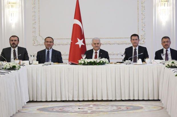 Başbakan, Afrin'e yönelik harekâtın çerçevesini çizdi
