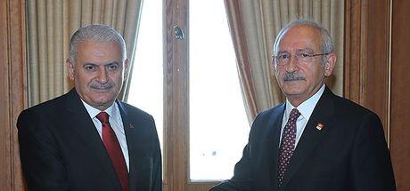 Son dakika... Başbakan Yıldırım, CHP lideri Kılıçdaroğlu ile bugün Afrin'i görüşecek
