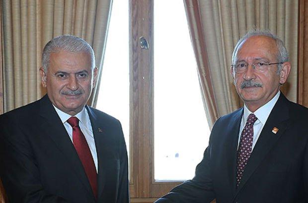 Başbakan Yıldırım, CHP lideri ile Afrin'i görüşecek
