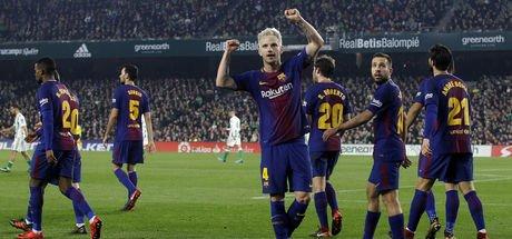 Barcelona: 5 - Real Betis: 0