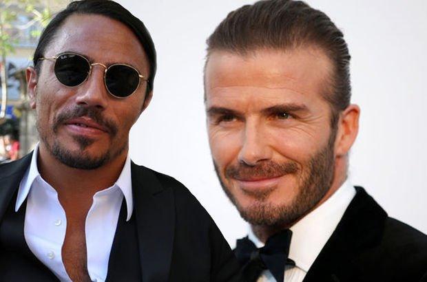 David Beckham'dan Nusret tuzlaması