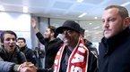 Dünya yıldızı İstanbul'a geldi!