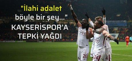 Galatasaray'dan Kayserispor'a fair play dersi!