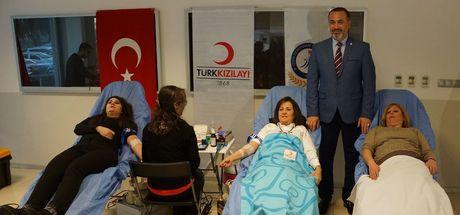 Zeytin Dalı Harekatı'na üniversite öğrencilerinden kan bağışı desteği!