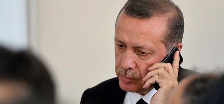 Cumhurbaşkanı Erdoğan ve Macron, Zeytin Dalı Harekatı hakkında konuştu