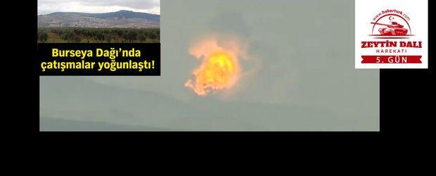 Terör hedeflerinin bombalanma anı canlı yayında görüntülendi