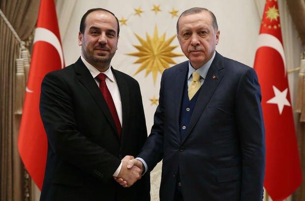 Cumhurbaşkanı Erdoğan, Suriye muhalefeti temsilcisini kabul edecek!