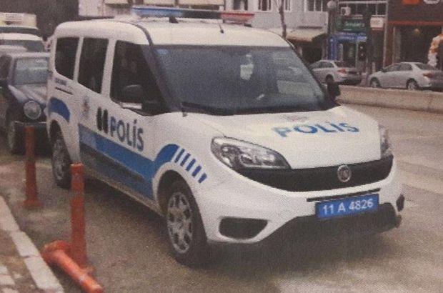 Polis, polis aracına park cezası kesti