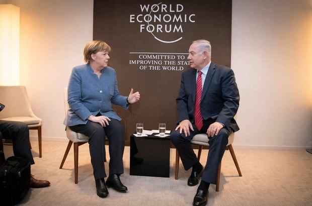 İsrail Başbakanı Netanyahu, Merkel ve Trudeau ile görüştü!