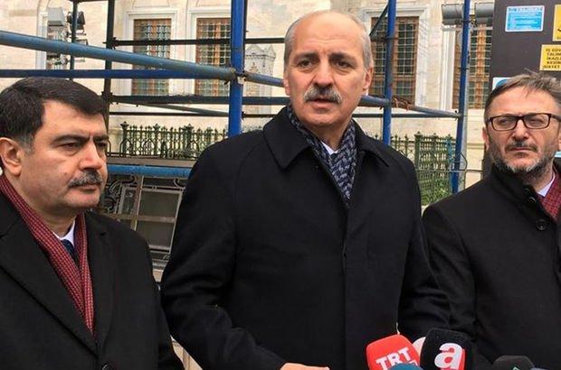 Bakan Kurtulmuş: Terör örgütleri, bu silahları Çarşamba Pazarı'ndan almadılar