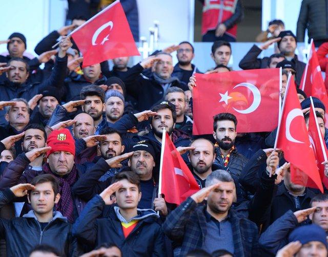 Malatya'da Afrin'e düzenlenen Zeytin Dalı Harekatı'na destek verildi!