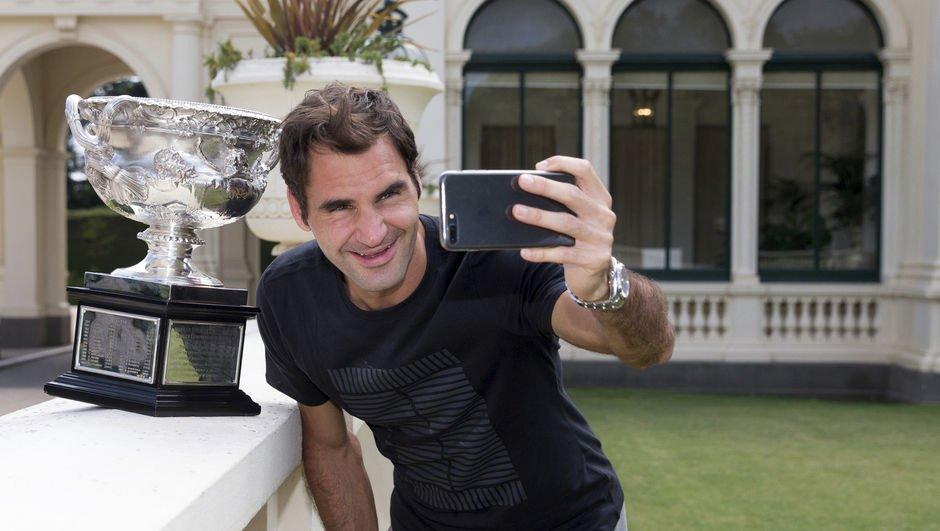 Federer rekorunu geliştirdi