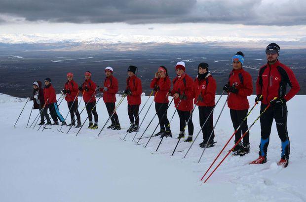 AFAD'dan şampiyonaya hazırlanan kayakçılara destek