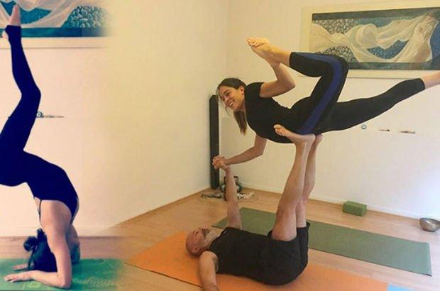 """""""Dayımgille yoga keyfi"""""""