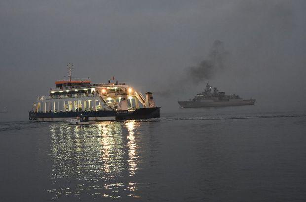 Çanakkale Boğazı çift yönlü transit gemi geçişlerine kapatıldı