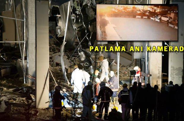 Son dakika... Ankara'da korkutan patlamanın sebebi belli oldu!