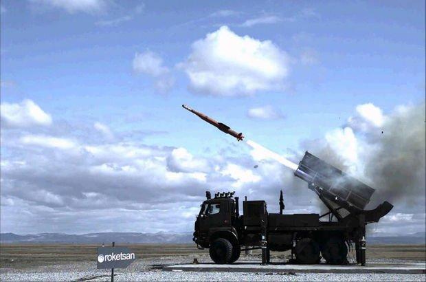 Yerli füzenin test atışı gerçekleştirildi